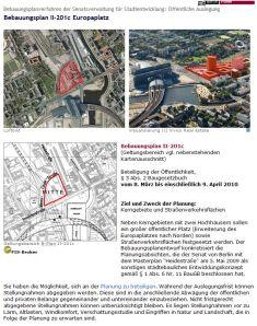 Bebauungsplan II-201c
